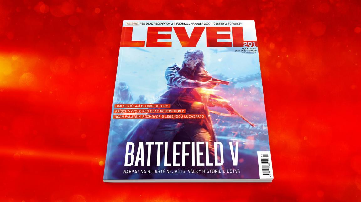 LEVEL 291: pohled do zákulisí vývoje Red Dead Redemption 2, hry jako léky na předpis a další