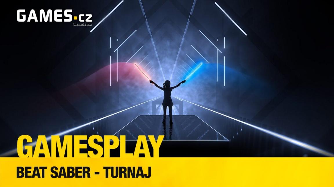 GamesPlay - soupeříme ve virtuálním a rytmickém Beat Saber