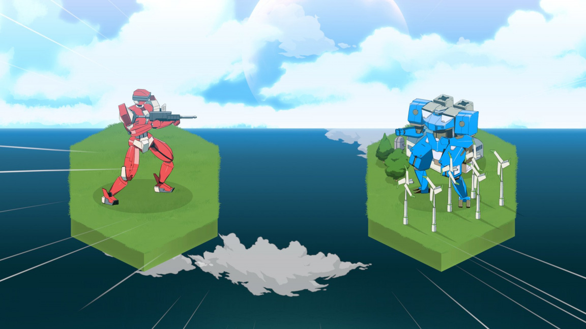Warborn je tahová strategie ve stylu klasických mecha anime