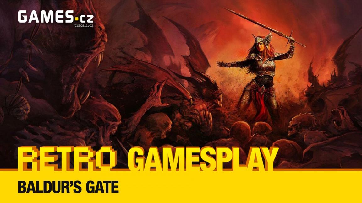 Retro GamesPlay – hrajeme kultovní RPG Baldur's Gate