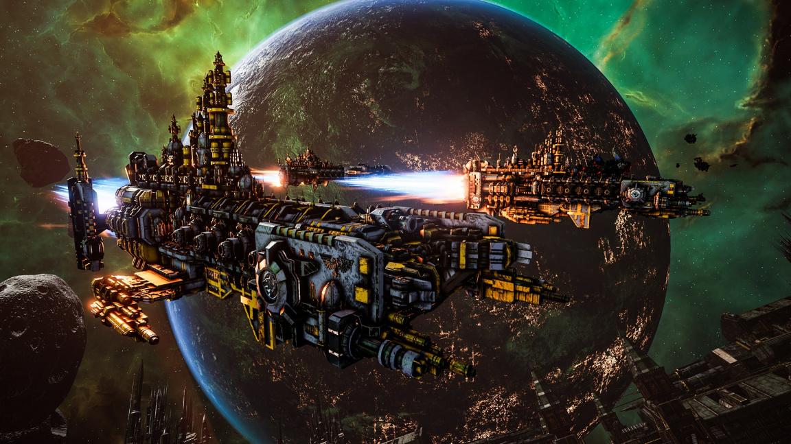 Pro singleplayerovou část Battlefleet Gothic Armada 2 si připravte i stovku hodin