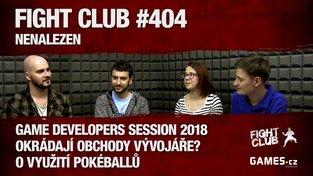 Fight Club #404: Nenalezen