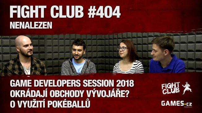 Fight Club #404 o GDS, Steamu a Switchi s Pavlem Barákem