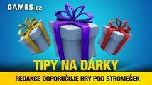 Tipy na vánoční dárky od redakce Games.cz - hry