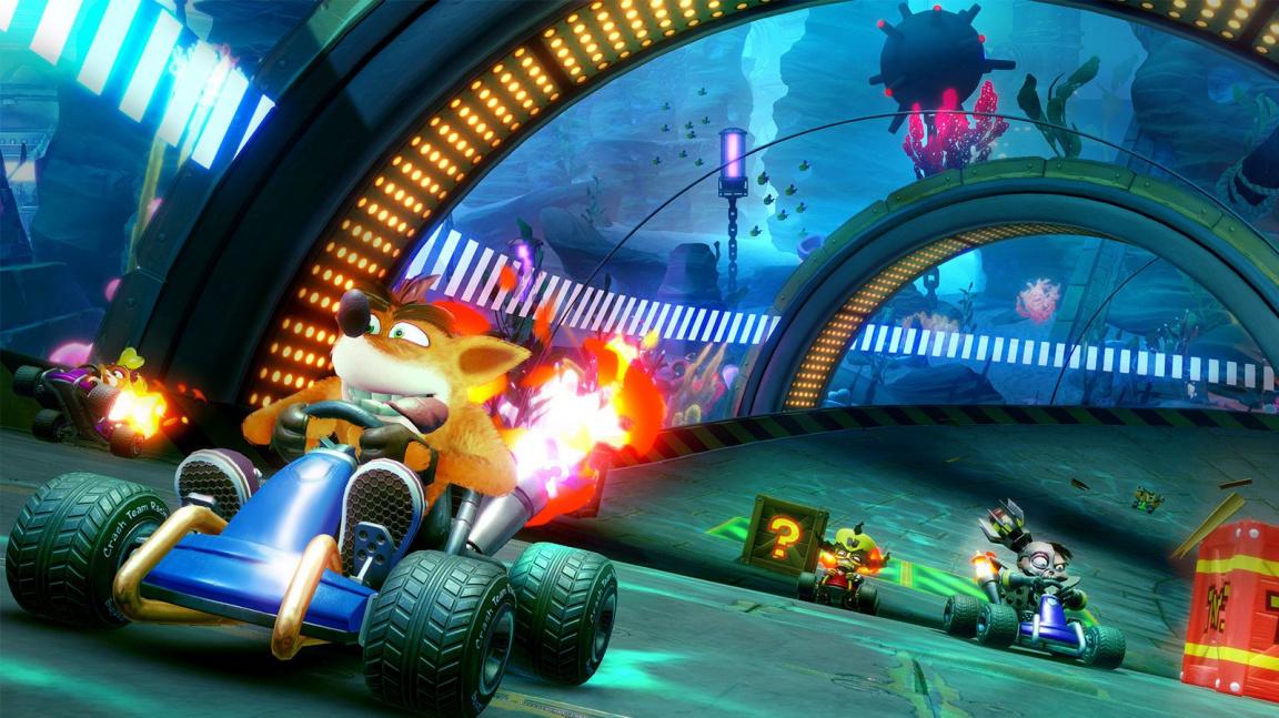Crash Bandicoot se vrací podruhé, tentokrát vyzve na souboj Mario Kart