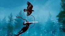 V The Pathless od tvůrců Abzû používáte jestřába místo vrtulníku