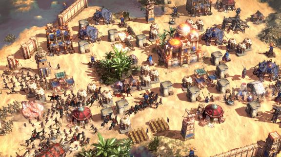 Záběry ze strategie Conan Unconquered se hemží pavouky a tlejícími mrtvolami