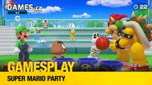 GamesPlay - Super Mario Party ve čtyřech