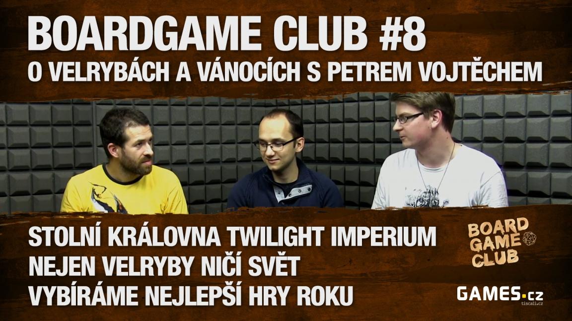 BoardGame Club #8: O velrybách a Vánocích s Petrem Vojtěchem