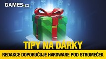 Tipy na vánoční dárky od redakce Games.cz – hardware