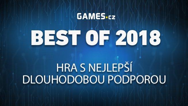 Best of 2018: Hra s nejlepší dlouhodobou podporou