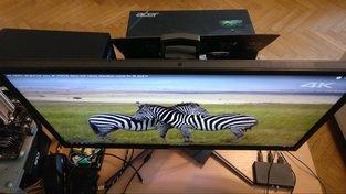 Pozorovací úhly Acer Predator X27