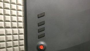 Ovládací prvky Acer Predator X27