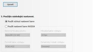 Acer Predator X27 - nastavení 144 Hz HDR 4K