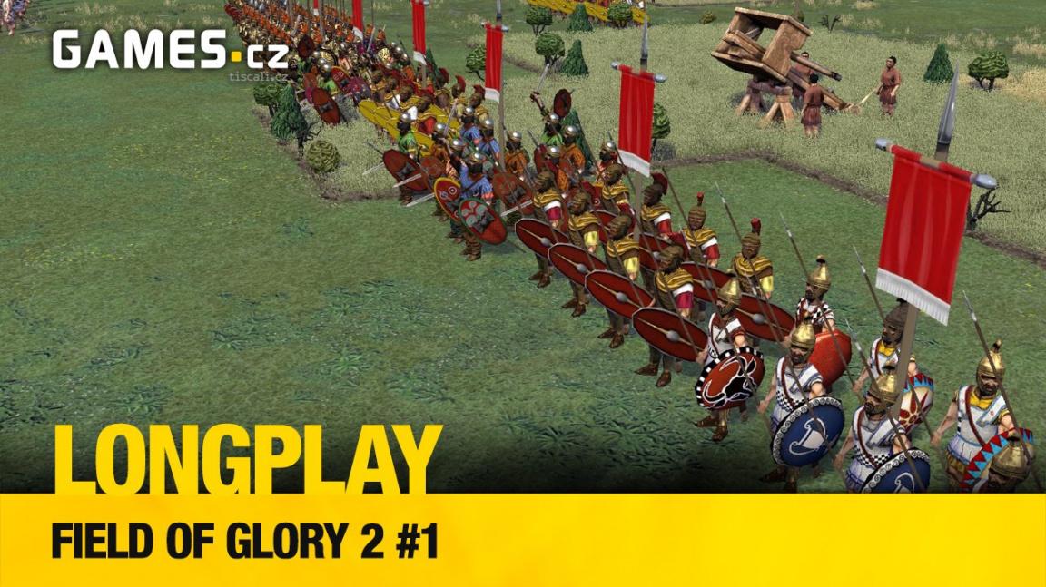 LongPlay – Field of Glory 2 #1: Antická řežba naslepo