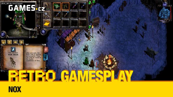 Retro GamesPlay – hrajeme akční RPG Nox