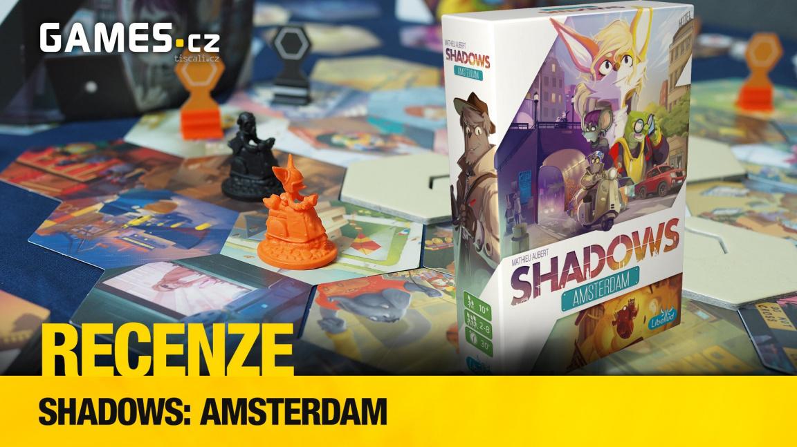 Shadows: Amsterdam – videorecenze deskové hry