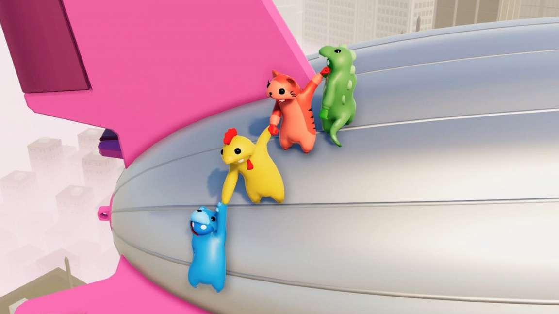 Ulovte si levné Gang Beasts a Everything na Humble Bundle
