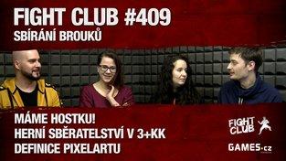 """Fight Club #409: Sbírání brouků s Janou """"Yuffie"""" Kilianovou"""