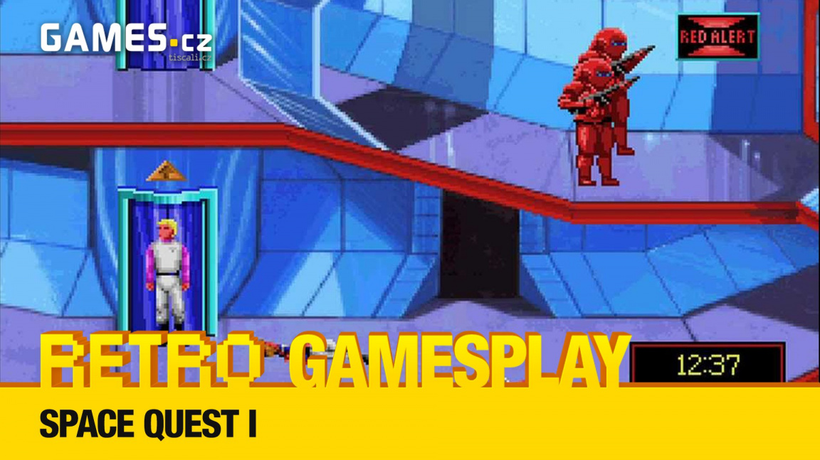 Retro GamesPlay – hrajeme komiksovou adventuru Space Quest I