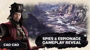 V Total War: Three Kingdoms špioni zabírají provincie a ničí armády