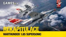 Rekapitulace: War Thunder 1.85 Supersonic
