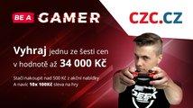 Vyhrajte herní ceny za desítky tisíc a ušetřete na hrách a hardwaru v rámci Be a Gamer na CZC.cz