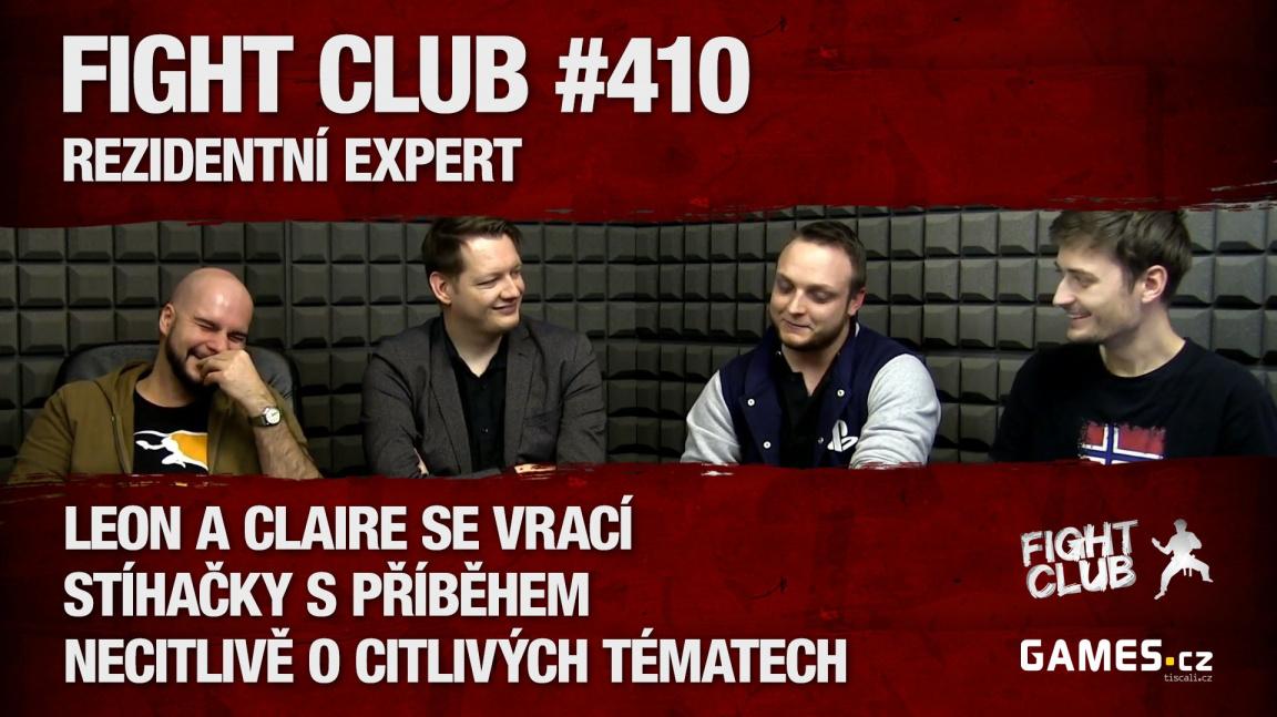 Fight Club #410: S rezidentním expertem Davidem Rynešem