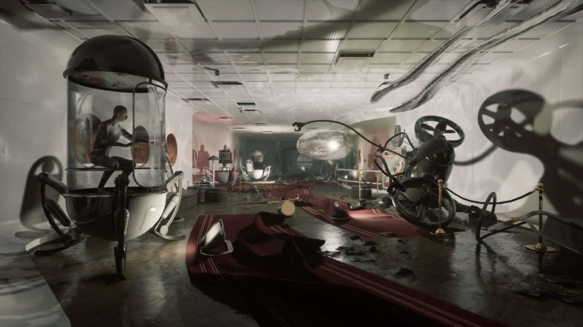 """Ve světě """"ruského Bioshocku"""" Atomic Heart létají vzduchem robotičtí červi i řeky"""