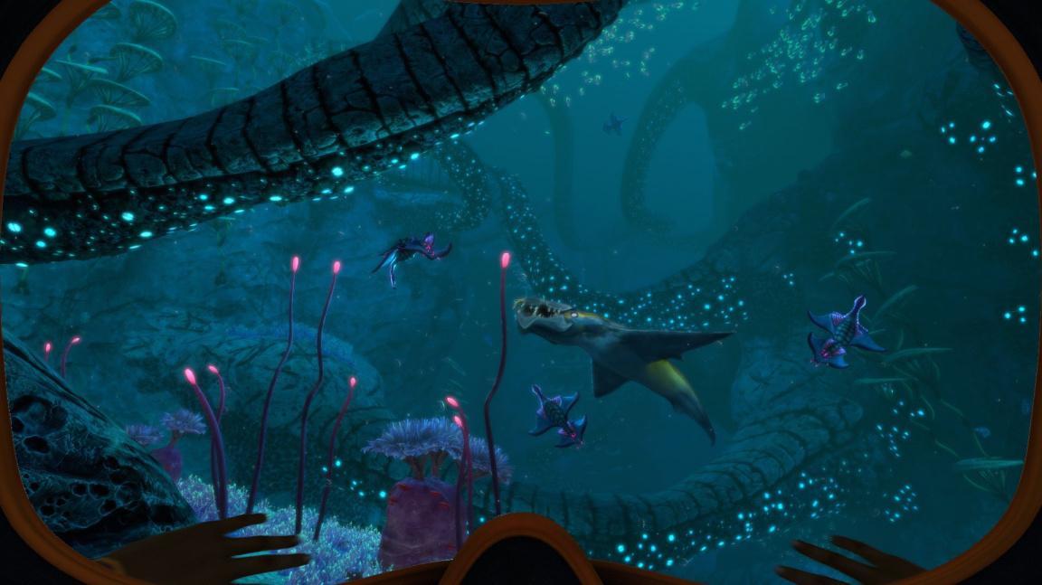 Potápěči se brzo zchladí v early accessu Subnautica: Below Zero