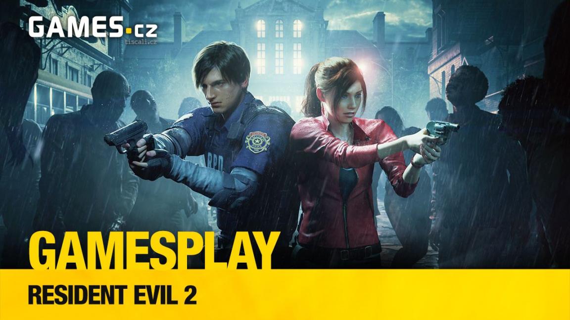 GamesPlay – hrajeme remake hororového Resident Evil 2