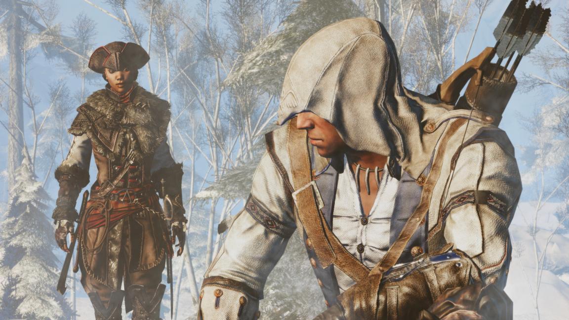 Connor a Aveline se vracejí v remasterech Assassin's Creed