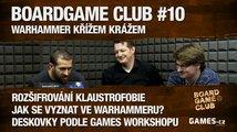 BoardGame Club #10: O fantasy i sci-fi Warhammeru s Alešem Smutným