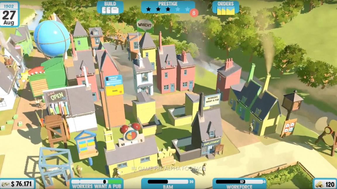 Peter Molyneux pracuje na další hře, kutilské simulaci Legacy