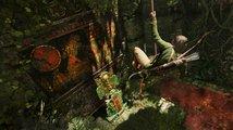 Lara se s nástrahami džungle popere v myslivecké kamizolce