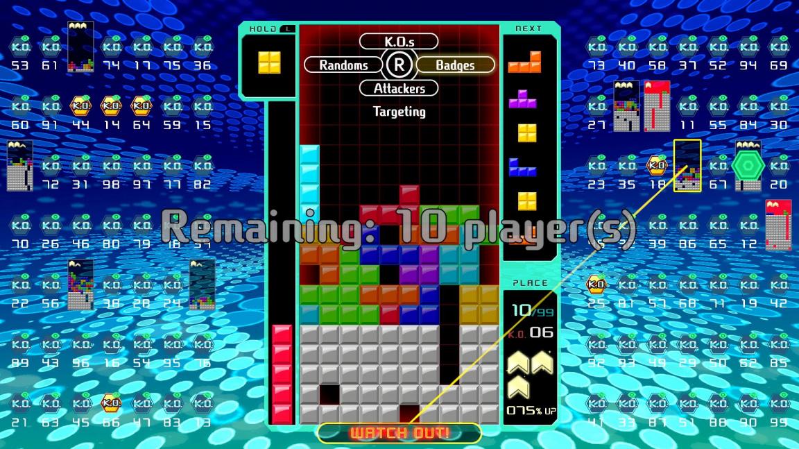 Žánr battle royale se probojoval už i k logickým hrám s žhavou novinkou Tetris 99