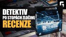 Detektiv: Po stopách zločinu – videorecenze deskové hry
