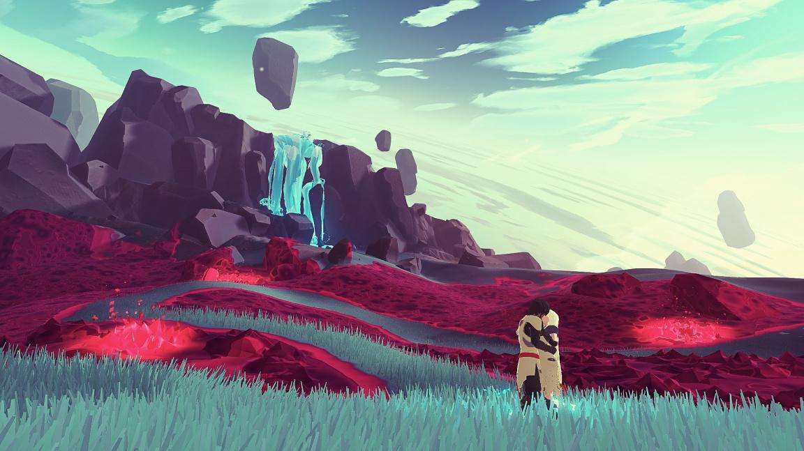 Kooperativní RPG Haven ukazuje život milenců na opuštěné planetě
