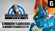 BoardGame Club #11: S Mirkem Tlamichou o novém vydavatelství a turnajovém hraní