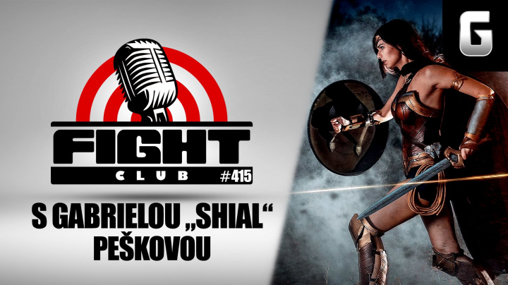 Sledujte Fight Club #415 s cosplayerkou Shial
