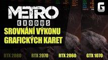 Metro Exodus: srovnání výkonu grafických karet
