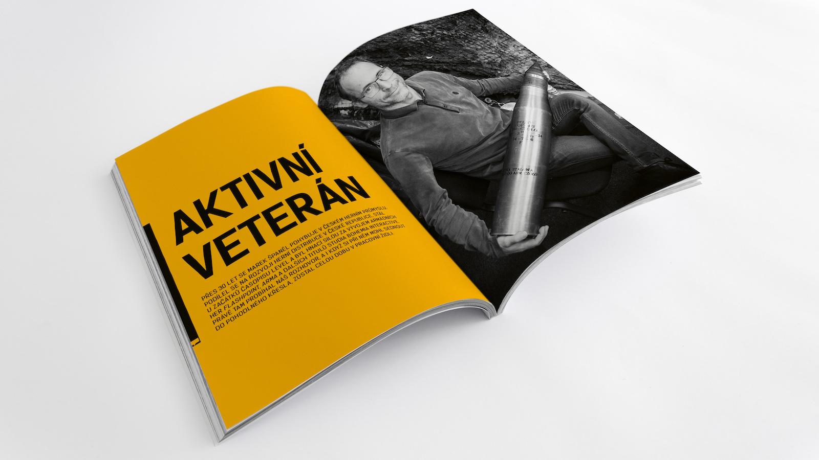 Marek Španěl je jedna z nejvýraznějších a nejdéle aktivních postav  tuzemského herního průmyslu 910d1dc819f