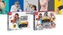 Switch se dočká své první virtuální reality v dalším balíčku stavebnice Labo