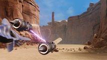 Zahrajte si fanouškovský remake kluzáků Star Wars Episode I: Racer