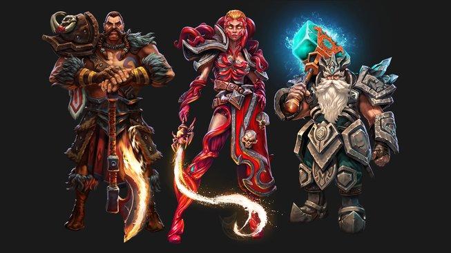 Herní postavy Pagan Online