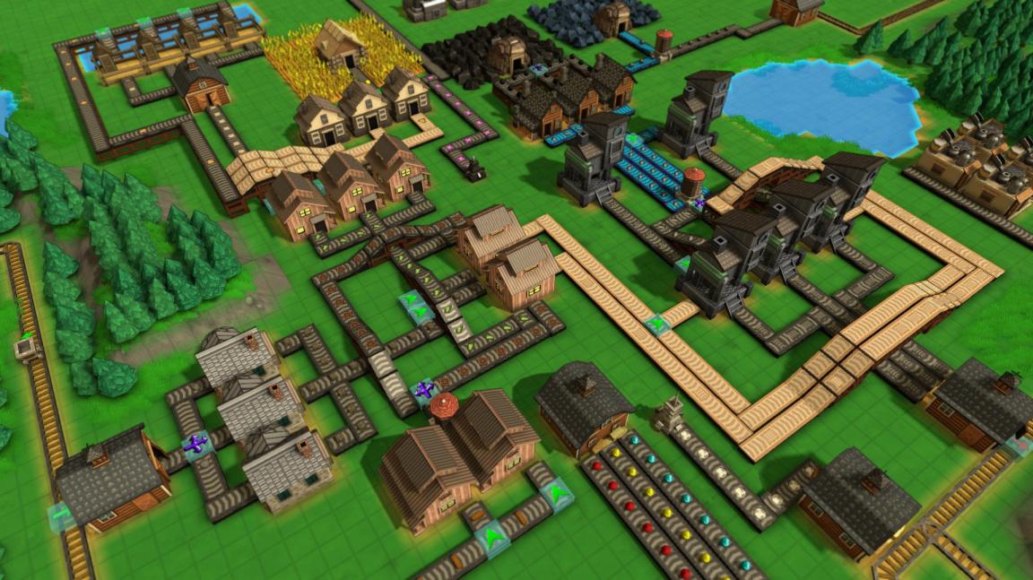 Factoriu se rodí další konkurence v budovatelské strategii Factory Town