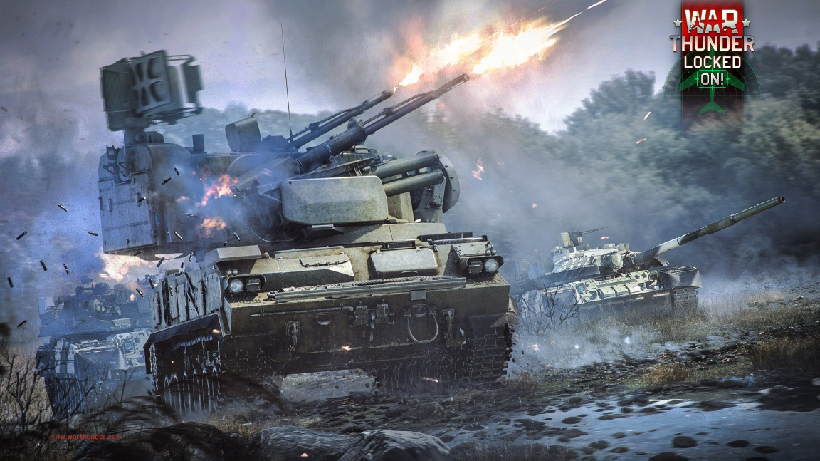 """War Thunder se s updatem 1.87 """"Locked On!"""" posouvá do moderního konfliktu"""