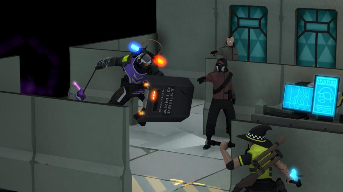 V Tactical Breach Wizards policejní kouzelníci bojují proti dealerům drog