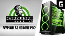 Hardware Club #28: Vyplatí se dnes hotové sestavy z obchodu? Srovnání + naše zkušenosti