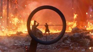 V Battlefieldu V vypukla zimní battle royale Firestorm